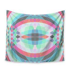 69 by 70 Kess InHouse Fimbis Jazar Abstract Geometric Shower Curtain
