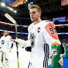All Star Weekend 2018 Tampa Bay Nhl All Star Game, Connor Mcdavid, Edmonton Oilers, Tampa Bay, Hockey, Hot Guys, Coaching, Sports, Wisdom