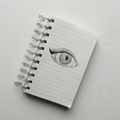 Winged eyeliner drawing, very simple and cute!