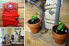 Fairy Door Clay Pot Planter Is An Easy DIY | The WHOot