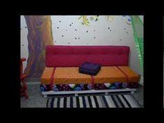 sofá pallet -