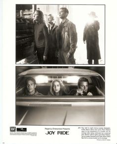 JOY RIDE - Paul Walker, Steve Zahn & Leelee Sobiesky - 2001 Original Movie Still
