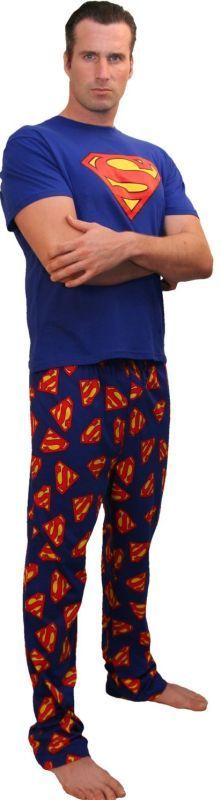 DC Comics Superman Logo Men's Pajama Pants $19.50 #topseller ...