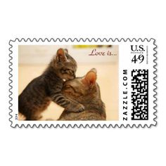 """""""The Greatest of These is Love"""" Postage. It is really great to make each letter a special delivery! Add a unique touch to invites or cards with your own photos or text. Just click the image to learn more!"""