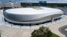 Gallery of Nassau Veteran's Memorial Coliseum Transformed With Ethereal Metal Design System - 11