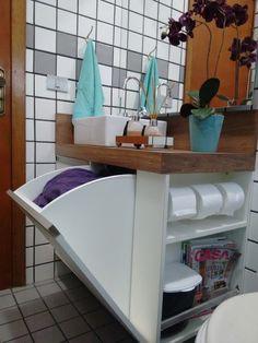 Armario multiuso para banheiros