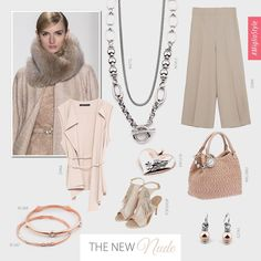 The New Nude – Lighten up in this season's chicest shade. Designer Jewellery, Jewelry Design, Independent Consultant, Concealer, Nude, Elegant, How To Wear, Style, Fashion