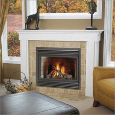 Fireplace Surround With A Slate Style Porcelain Tile Custom Tile Work Pinterest Hearth