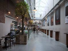 De Hallen | Foodhallen | Brasserie halte 3 | Meat West | Filmhallen | Local goods market