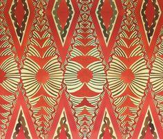 Old School,  Tongan tapa ,tradional fabric by sophista-tiki on Spoonflower - custom fabric