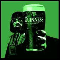 Darth Vader...boozing.