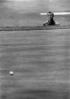 Golf School Arnold Palmer looking after is Bunker shot. Our Residential Golf Lessons are for beginners, Intermediate Famous Golfers, St Andrews Golf, Augusta Golf, Ladies Golf, Women Golf, Golf Course Reviews, Public Golf Courses, Arnold Palmer, Vintage Golf