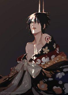 Sasuke Uchiha, Naruto Shippudden, Naruto Boys, Naruto Shippuden Anime, Narusasu, Sasunaru, Neko, Naruto Pictures, Team 7