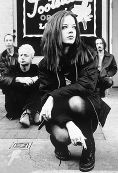 Shirley Manson and Garbage, I LOVE, LOVE, LOVE  this band, Shirley Manson is a phenomenal singer.