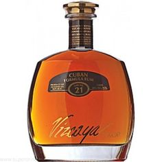Vizcaya VXOP Cask No. 21 Cuban Formula Rum; Rum so beautiful, you will want to display it on your mantel piece | spiritedgifts.com