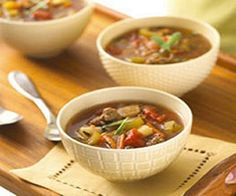 WW Hamburger Soup-This is a WW 2 Plus+ recipe.  I used ground turkey only. No rosemary. Added a can of tomato paste. Very good. Shred lots of carrots to sneak in for kids and you could put cauliflower in as we'll. yummy