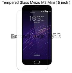 Anti Gores Tempered Glass Meizu M2 Mini ( 5 inch )  DESKRIPSI :   - Merk OREN. - Kualitas Premium. - Tebal 0.26 mm. - 0.25 D. - Jamin Pas di Layar. - Isi kemasan : 1 buah anti gores, 1 buah tisu basah, 1 buah tisu kering.