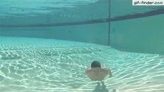 Underwater Face Smash