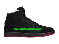 best website 849eb 9f11e Basket Jordan 1 Retro ´93 (2015) Chaussures Nike Air Jordan Pas Cher Pour  Homme Noir 580514-032
