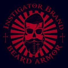 Coming Soon! Instigator Brand Beard Armor. Beard Oil #beard #beards #InstigatorBrandBeardArmor #comingsoon #beardlove #beardstrong #beardoil #bearded #loveofthebeard #beardedman #beardedmen #badassbeard #beardstyle