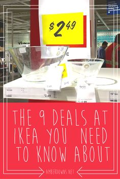 The 9 deals at Ikea you need to know about. Hacks, products, and the best deals for your budget. AmberDowns.net