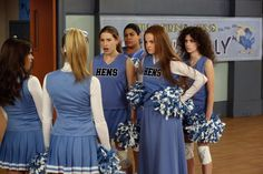 """Sue challenges Debbie and Courtney to a """"Cheer Challenge"""" ~ """"Bring it On! The Middle Tv Show, Bridesmaid Dresses, Wedding Dresses, Love My Job, Modern Family, Favorite Tv Shows, All About Time, Bring It On, Celebs"""