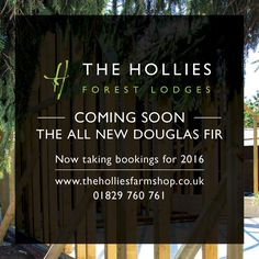 If you go down to the woods today, you're sure of a big surprise....  ...the new Douglas Fir Forest Lodge is being built, right before your very eyes!  Now available to book for 2016; go to http://www.theholliesfarmshop.co.uk/forest-log-cabins-luxury-lodges-cheshire