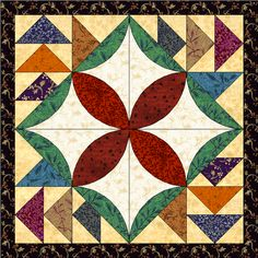 Please vote for this entry from Marty in Accuquilt Quilt Block Contest!