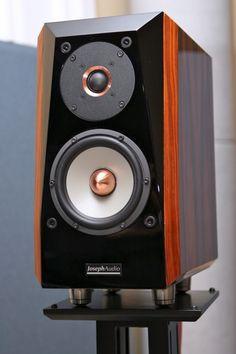 Joseph Audio Pulsar Loudspeakers ($7700/pair) Home Audio Speakers, Audiophile Speakers, Monitor Speakers, Bookshelf Speakers, Hifi Audio, Wireless Speakers, Bluetooth, Audio Design, Speaker Box Design