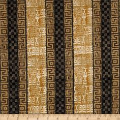Out of Africa Stripe Natural from @fabricdotcom  Designed by AKD for Robert Kaufman, this cotton print fabric is perfect for quilting, apparel and home décor accents. Colors include black, gold, shades of brown, grey and natural.