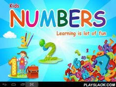 """Kids Numbers 123 Free  Android App - playslack.com , ~~Kids Numbers 123 Free App~~An educational app for kids which helps them quickly learn about numbers 123. The app contains fun graphics which are both memorable and colorful with different set of objects. Kids Numbers gives you 2 options to """"Start Learning"""" and """"Start Activity"""" to match objects with given number for easy learning.A must buy for your toddlers. This App is available for Android Tablets and Smartphones. App may contains…"""