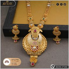 Gold Bangles Design, Gold Jewellery Design, Gold Jewelry, Gold Necklace, Gold Haram, Antique Jewellery Designs, Gold Mangalsutra Designs, Gold Set, Bridal Jewelry
