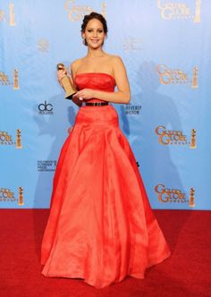 Jennifer Lawrence -Golden Globes 2013-