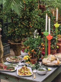The owners of Petersham Nurseries in Surrey prepare for a glamorous New Year celebration with their family. Richmond London, New Year Celebration, Canapes, Nurseries, Party Time, Table Settings, Table Decorations, Surrey, Gypsy