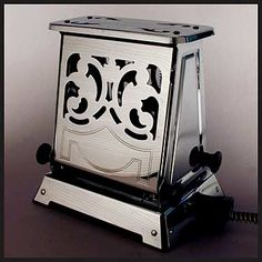 General Electric Antique Scroll Chrome Toaster....... I have a collection of antique toasters like this...