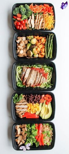 carebifunow Chicken Meal Prep Bowls: 5 Ways -  These 5 Chicken Meal Prep Bowls recipes are a quick and easy way to meal prep for healthy lunches a - #bowls #BreakfastRecipes #BrunchRecipes #chicken #HealthyBreakfasts #Meal #Prep #Ways<br>