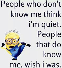Here we have some of Hilarious jokes Minions and Jokes. Its good news for all minions lover. If you love these Yellow Capsule looking funny Minions then you will surely love these Hilarious joke. Minion Humour, Funny Minion Memes, Funny Jokes To Tell, Really Funny Memes, Minions Quotes, Stupid Funny Memes, Funny Relatable Memes, Funny Texts, Funny Sarcastic