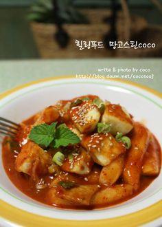 두부떡볶이... 두부를더해 맛과 영양up! – 레시피   Daum 요리