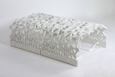 This set is the result of research on the potential applications of Ductal street furniture.