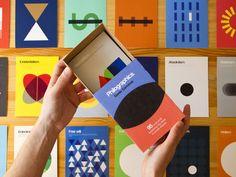 Philographics: Big ideas in simple shapes by Genis Carreras, via Kickstarter.
