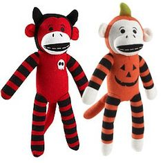 halloween sock monkeys | Halloween Sock Monkey review | buy, shop with friends, sale | Kaboodle