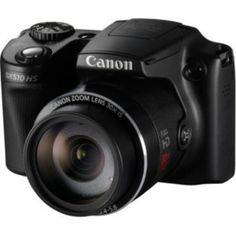 Canon PowerShot SX510 12MP Bridge Camera for only £119.99 (less than half price) at Argos #SwishList #ChristmasGiftIdeas