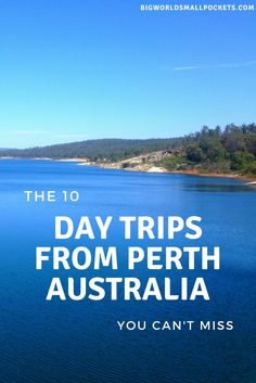 The 10 Best Day Trips from Perth Australia {Big World Small Pockets} Australia Travel Guide, Perth Australia, Western Australia, Coast Australia, Brisbane, Melbourne, Nambung National Park, Australian Road Trip, Australian Continent