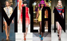 Milan Fashion Week 2014 Spring/Summer Top 5 Collections