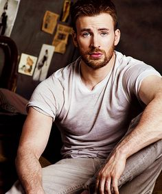 Chris Evans sometimes I love his look, sometimes I don't, therefore he'd be my perfect husband