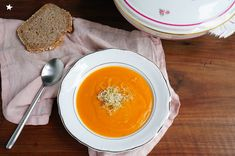 soupe courge vegan automne Le Curry, In Season Produce, Meal, Autumn, Recipes