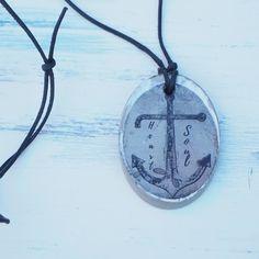 Foto Transfer, Etsy, Jewelry, Fashion, Longing For You, Script Logo, Neck Chain, Leather, Moda