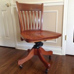 antique johnson and ford chair