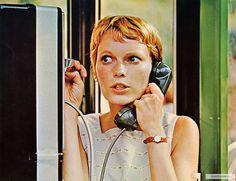 Mia Farrow, Rosemary's Baby, 1968.