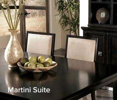 Dining Table from Ashley Furniture: This rug would probably work very well under our dining table!
